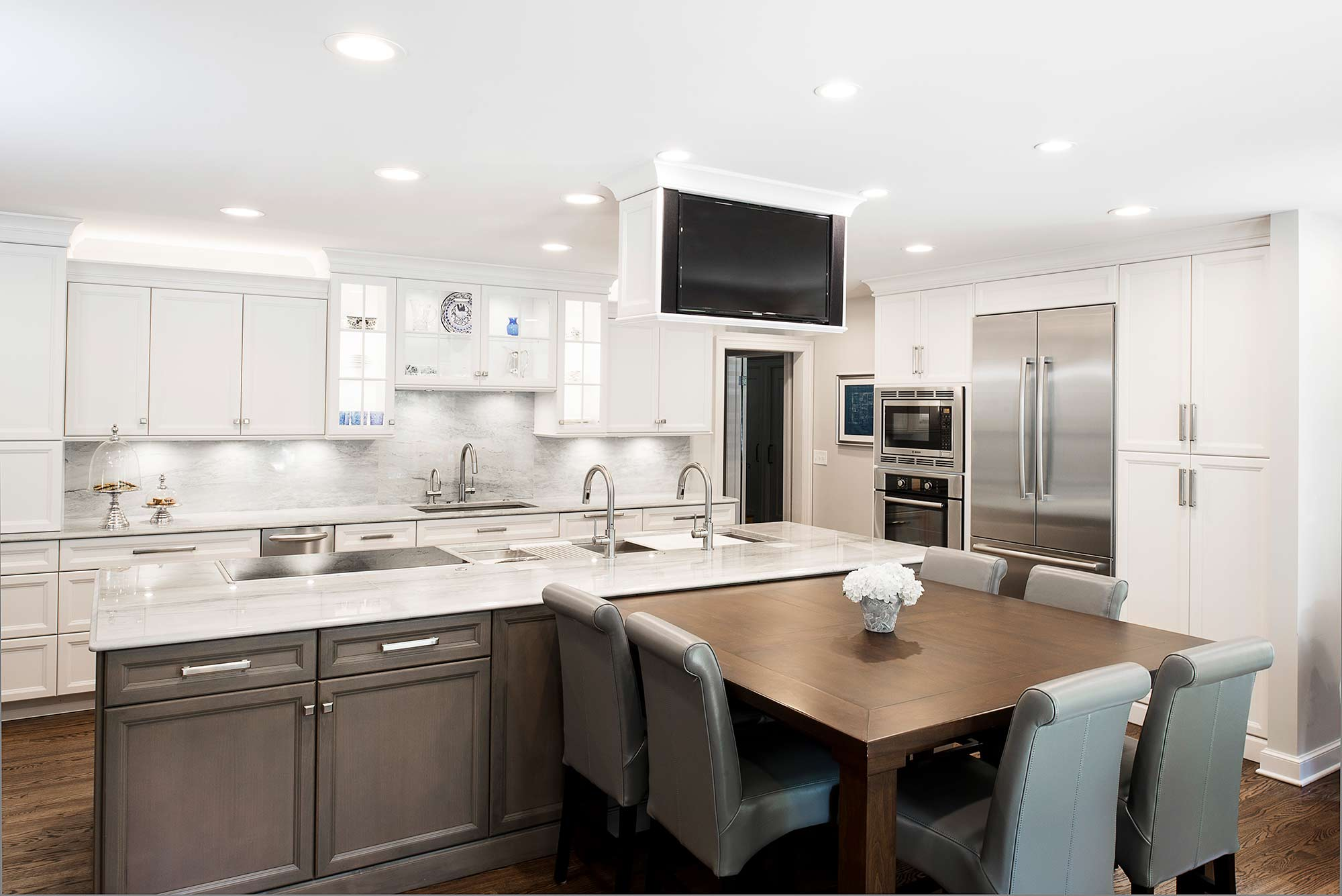 Cook eat watch kitchen ideas tulsa kitchen designers for Kitchen ideas tulsa