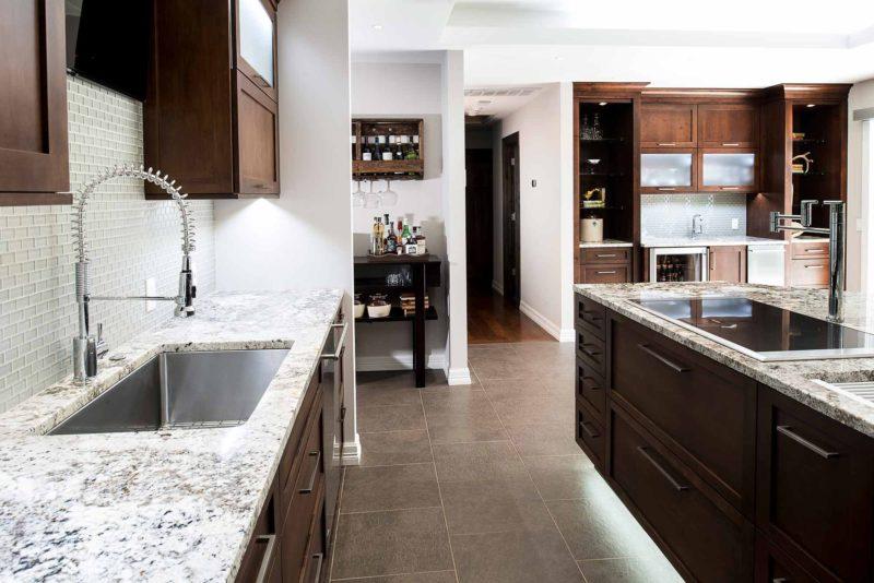 Dark Industrial 1 Handsome and rich kitchen