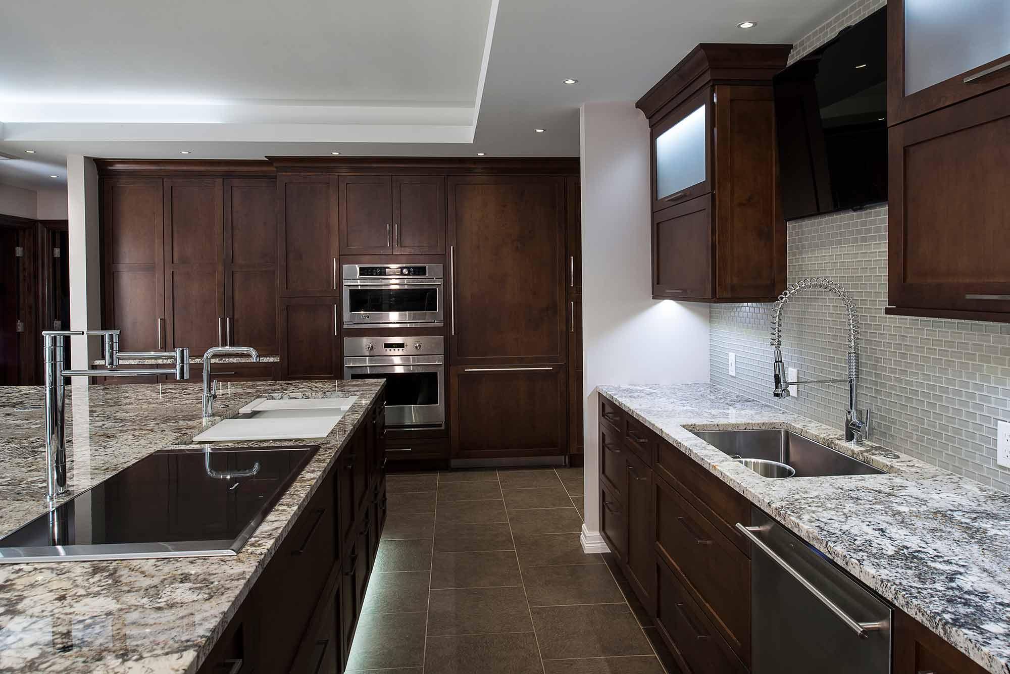 Dark Industrial 7 Handsome and rich kitchen