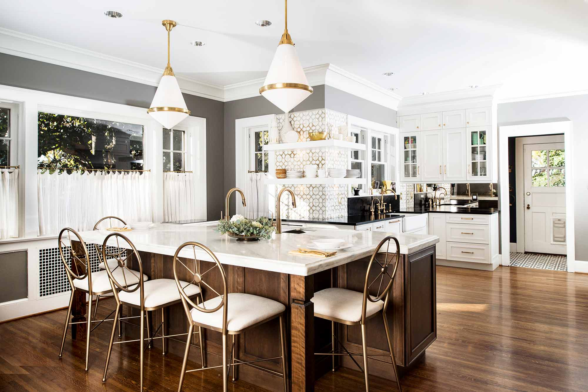 Historically Classy 2 beautiful kitchen