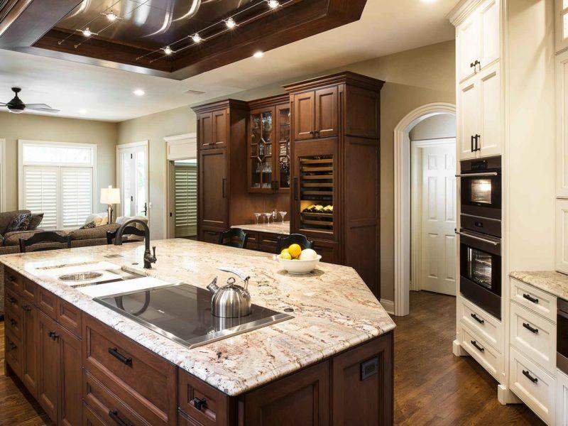 Marble & Wood 2 old world kitchen
