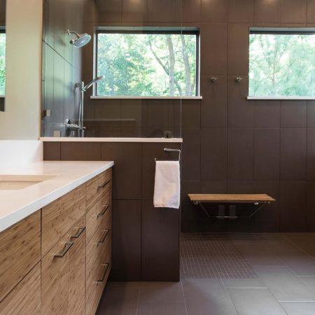 Beyond the Kitchen 8 modern bathroom