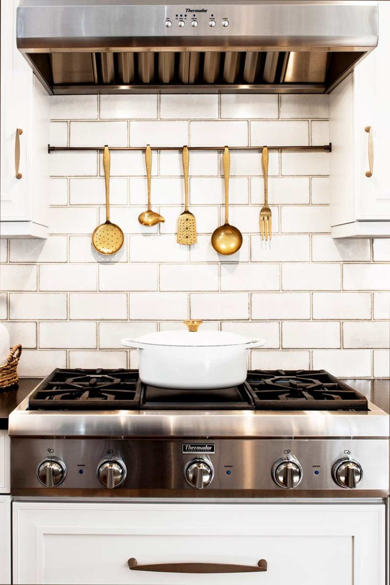 Historically Classy 12 beautiful kitchen with Thermador Professional gas cooktop and vent hood