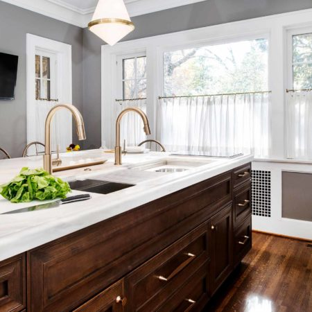 Historically Classy 7 beautiful kitchen with Galley Workstation large kitchen sink and induction cooking