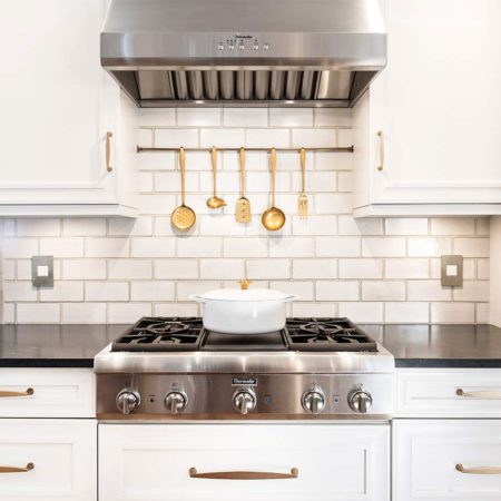 Historically Classy 8 beautiful kitchen with gas cooktop and vent hood