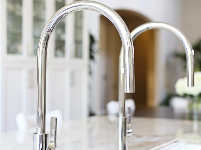 Kitchen remodel ideas Tulsa modern kitchen remodel with Galley Workstation kitchen sink with Galley Tap faucets
