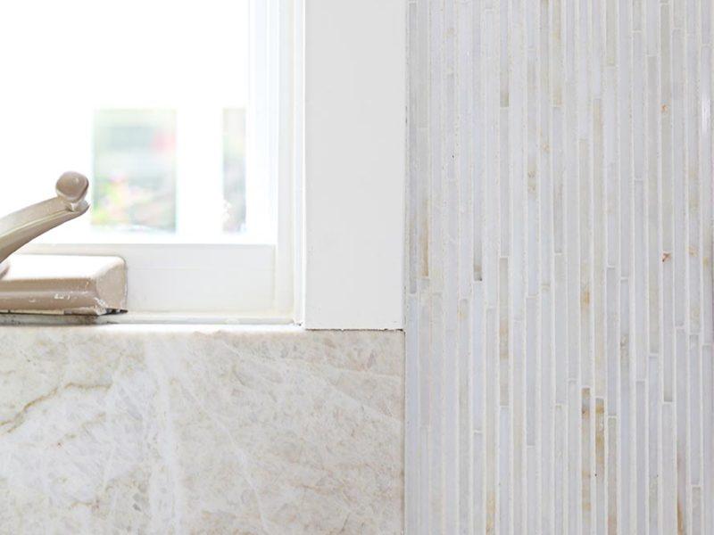 Kitchen design Tulsa modern kitchen cabinet remodel with decorative tile and counter material backsplash design ideas